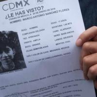 """""""La desaparición forzada es ocultamiento, retención y no una persona que deambula libre como lo observamos en las cámaras"""", Mancera sobre Marco Antonio."""