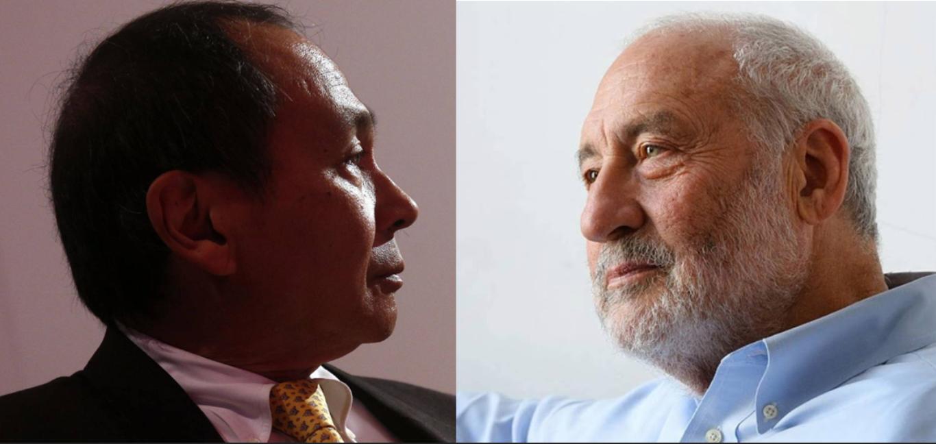 Citan a Stiglitz y Fukuyama en La Mañanera de AMLO