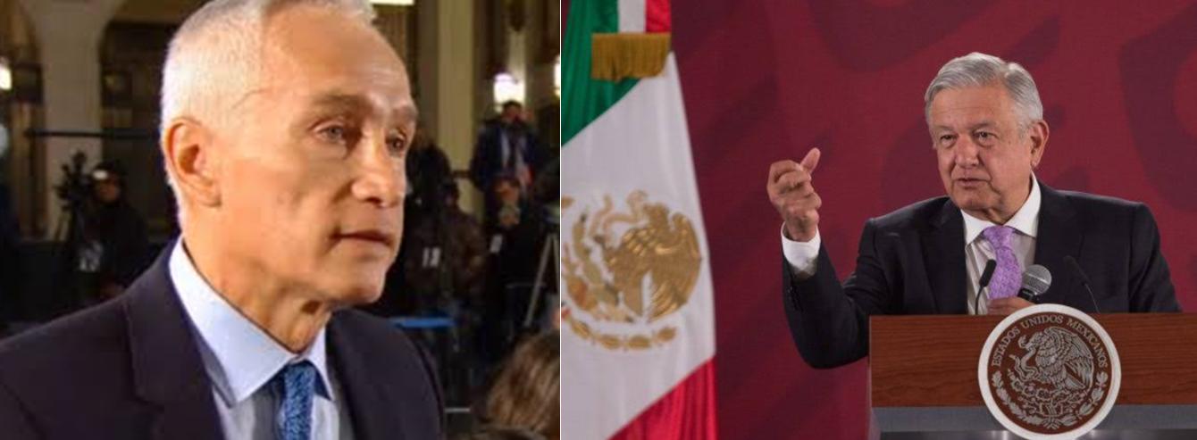 """""""Eso si calienta"""", AMLO responde a Jorge Ramos por cifras de inseguridad"""