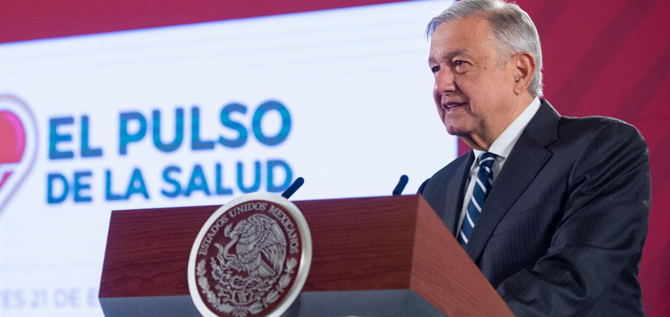 """Presenta AMLO el """"Pulso de la Salud"""", el programa de monitoreo del Sistema Nacional de Salud"""