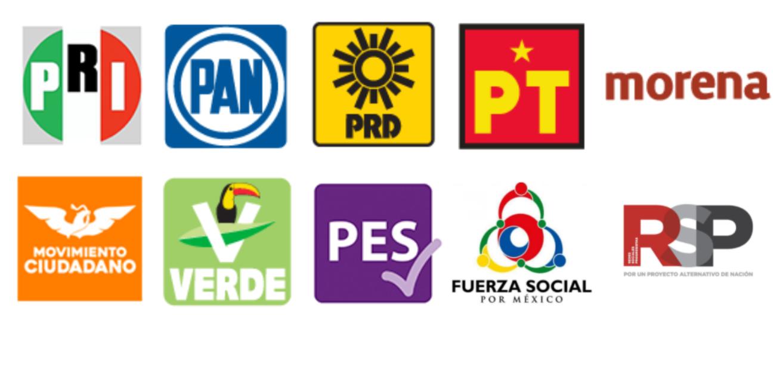 Estos son los 10 partidos políticos que competirán en 2021